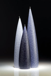 Candle, slim, Blue colour group