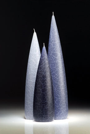 Candle, slim Blue