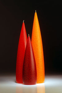 Candle, slim Orange