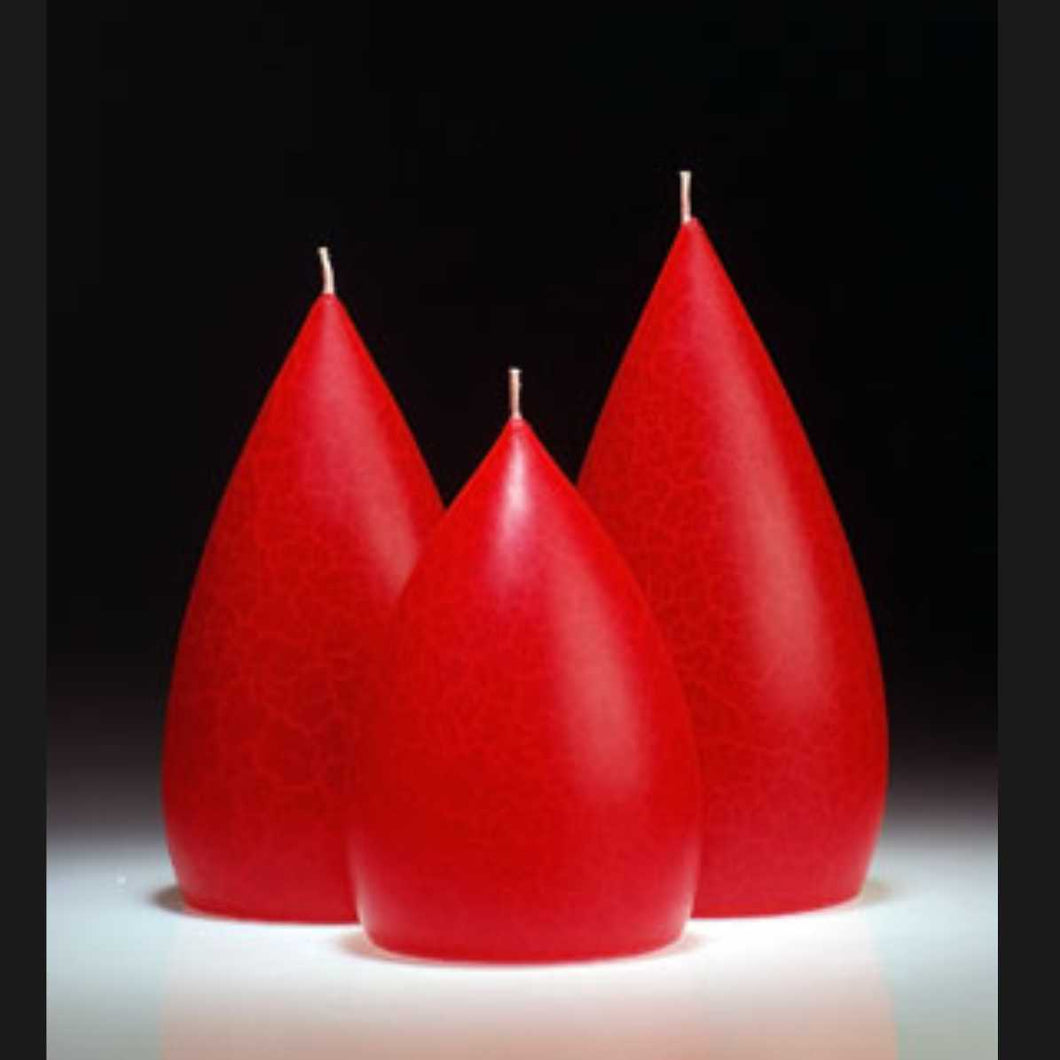 Candle, large Red