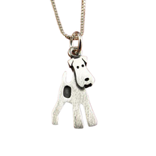 Wire Fox Terrier Pendant
