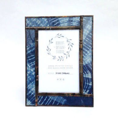 Photo Frame, 4x6 Kumo Shibori