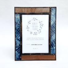 Photo Frame, 5x7 Veneer/Kumo Shibori