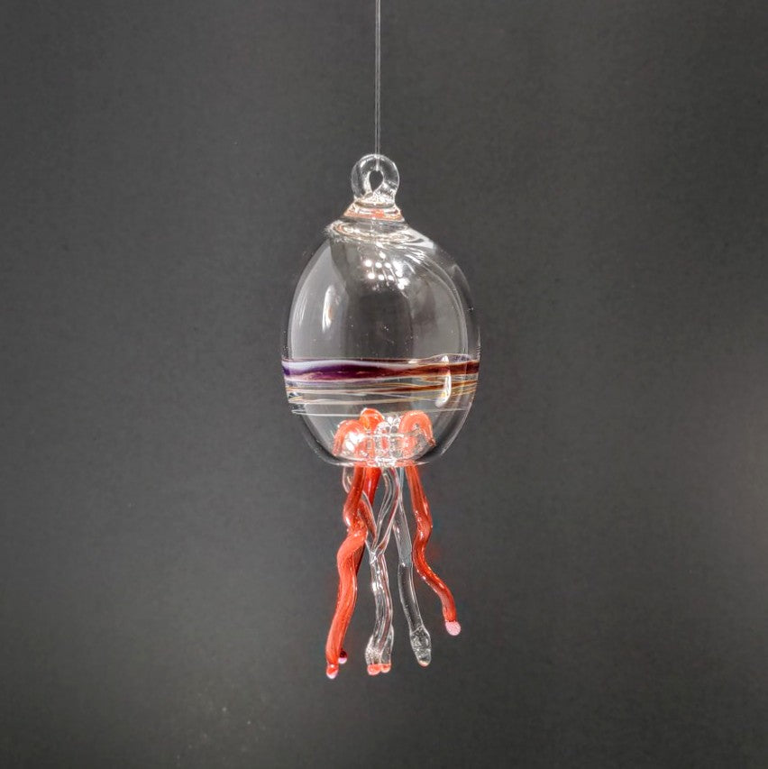 22 Jellyfish Ornament by Otter Rotolante Glass