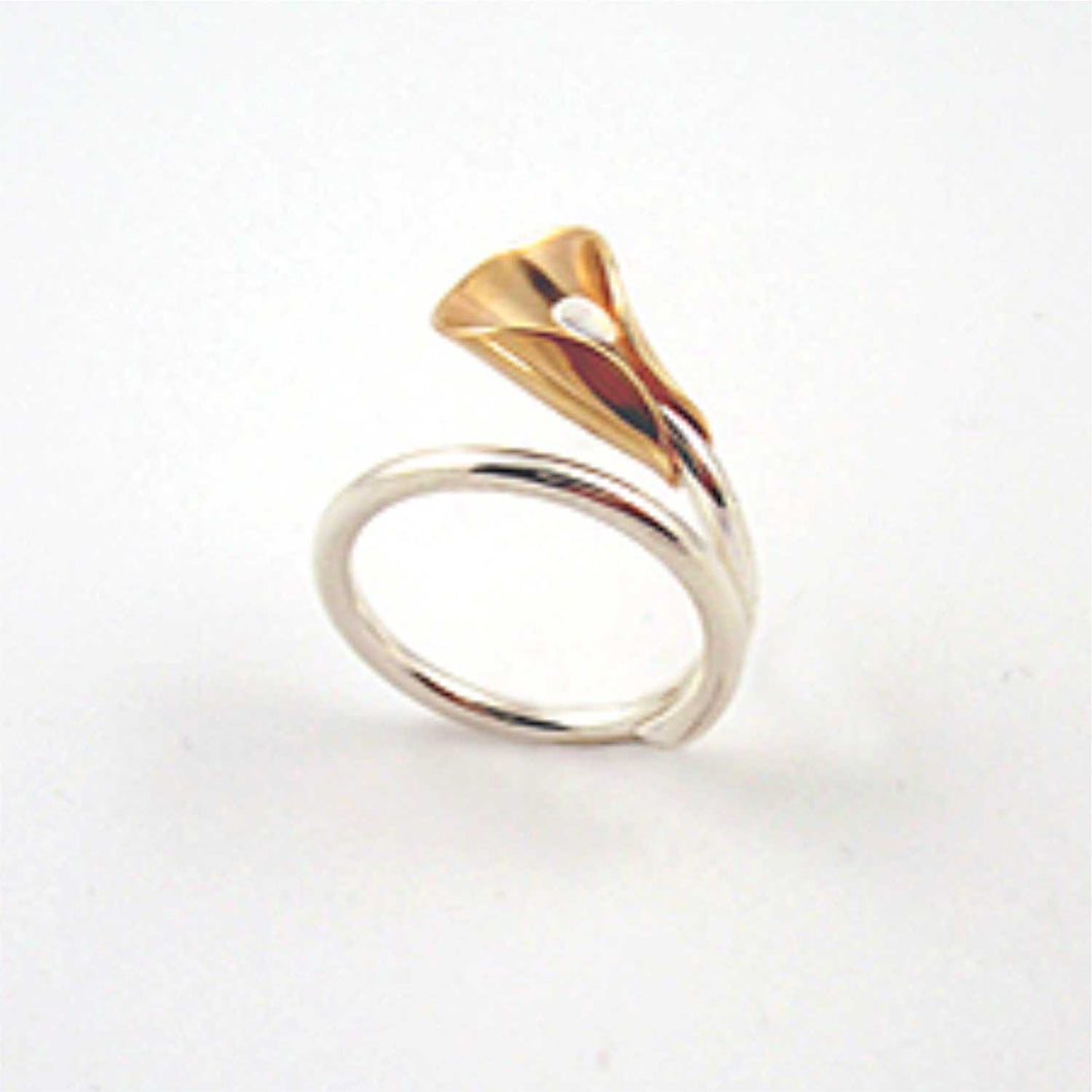 Lily Ring, 14k / SS