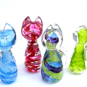 Glass Mini Cat