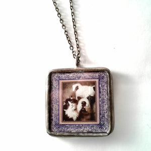 Dogs Love Cats Pendant