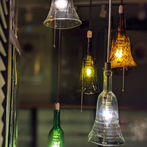 Bottle Pendant Light