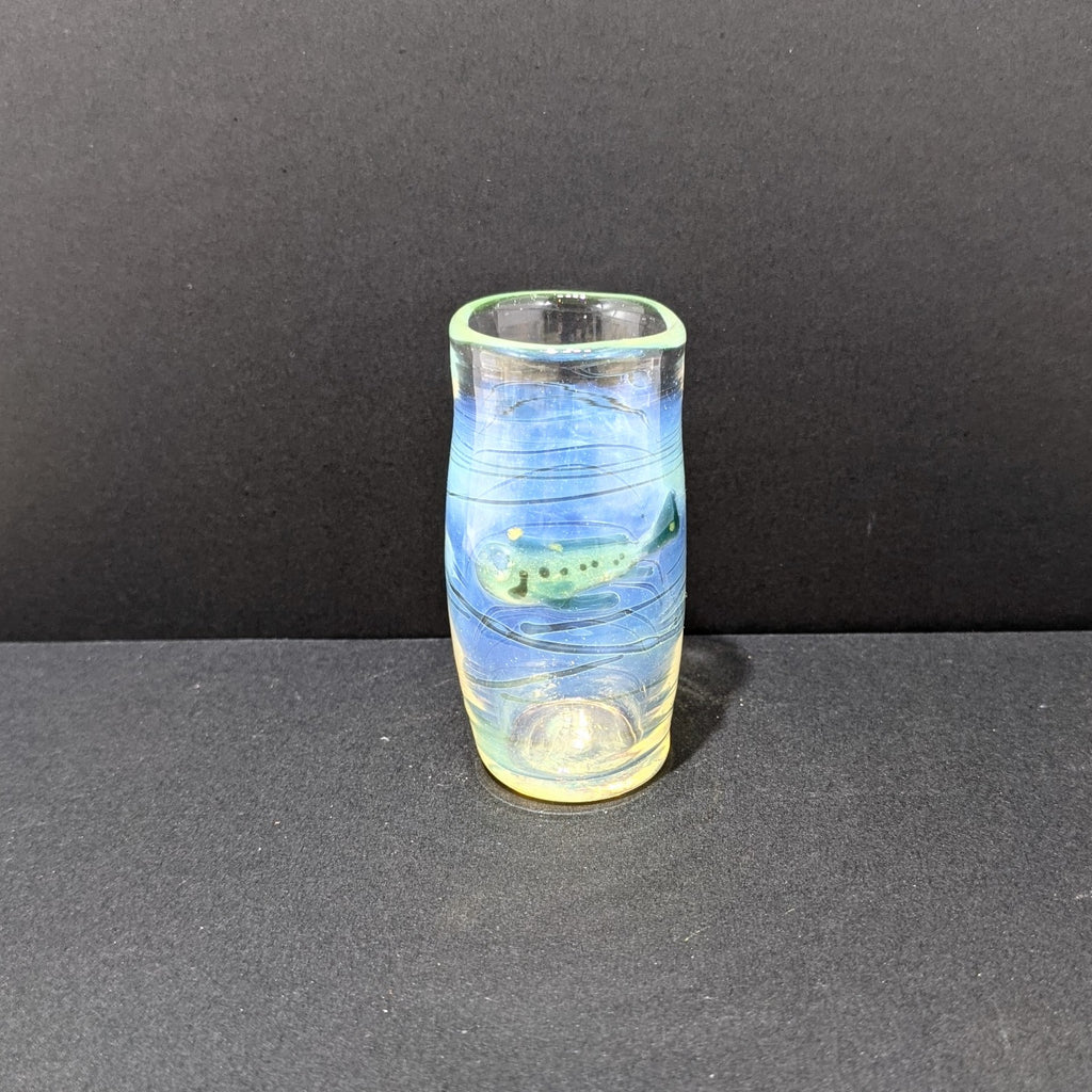 Ocean Shot Glass By Otter Rotolante Glass