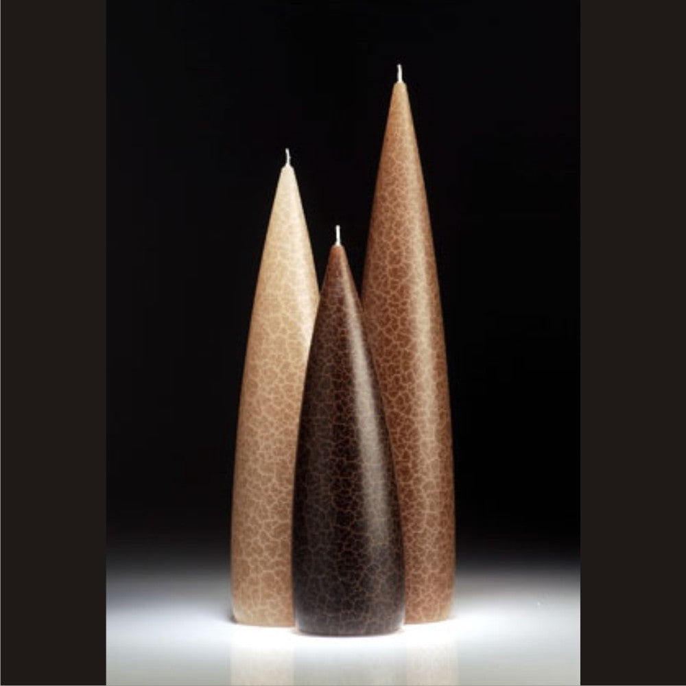 Taupe slim Barrick Candle grouping