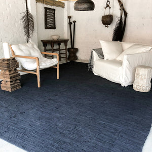 ON Sale at 25% OFF Asha Oversized Cotton Rug 300 x 400 cm Charcoal