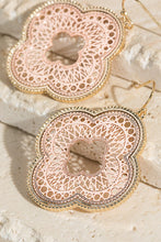 Load image into Gallery viewer, Two Tone Filigree Earrings