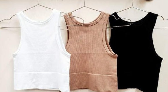 The Victoria Ribbed Tank