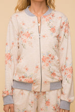 Load image into Gallery viewer, The Floral Bomber Jacket Set
