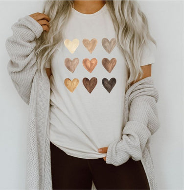 The Watercolor Heart Tee