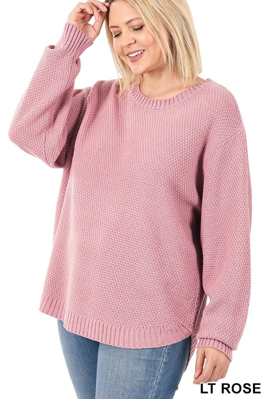 The Waffle Sweater (Size Small - 3X)