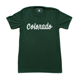 Colorado Tee-Emerald Green