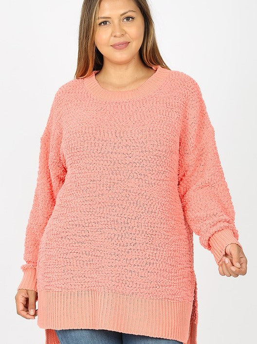 Best Selling Popcorn Sweater Plus Size