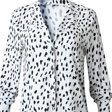 Load image into Gallery viewer, Dalmatian Print Top