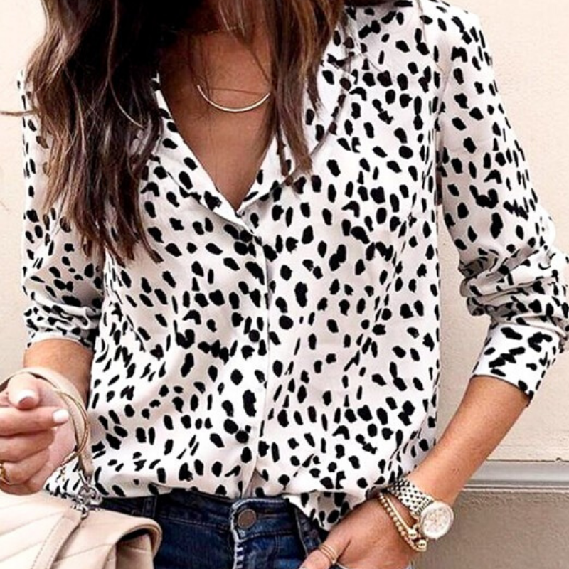 Leopard Blouse- NEW ARRIVAL
