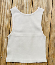 Load image into Gallery viewer, Comfy Ribbed Crop Tank