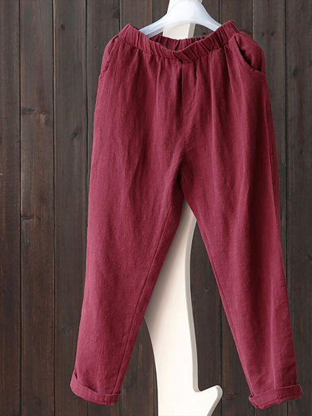 Linen Harlan long pants