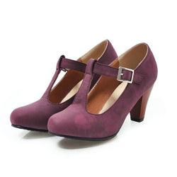 Women Elegant Summer Adjustable Buckle Dance Shoes