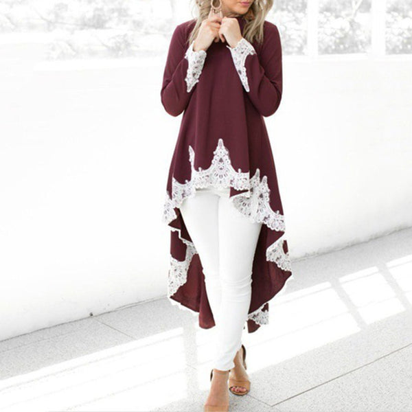 Casual Knitted Turtle Neck Solid Sweater
