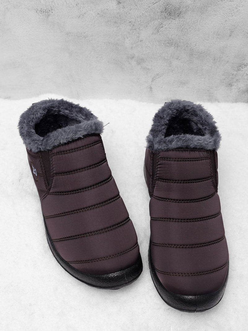Women's Warm Fur Ankle Slip-On Boots