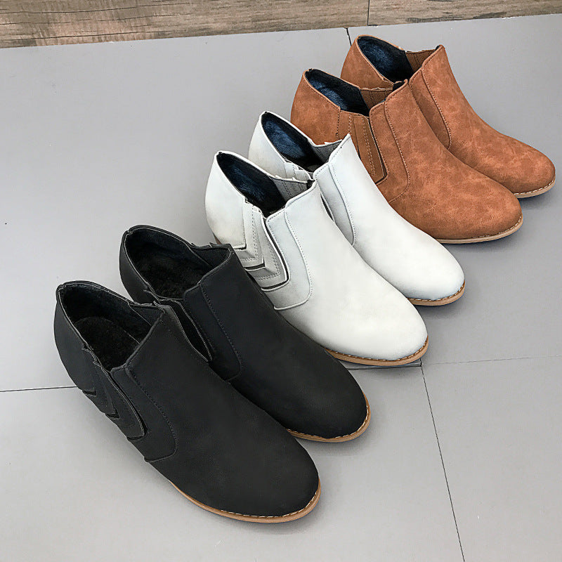 Winter Dress Pu Boot
