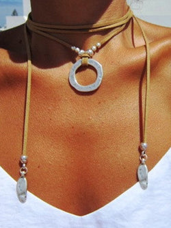 Boho bohemian necklaces