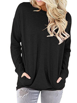 Pockets Casual Sweater