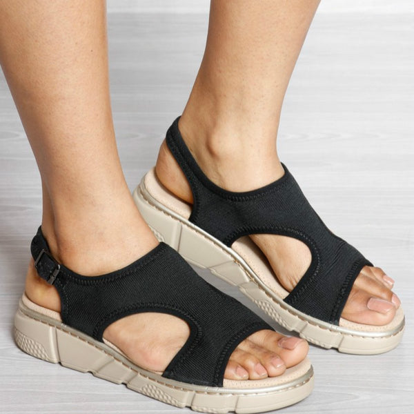 PU BOTTOM COMFORT INSOLE SPORTS SANDAL