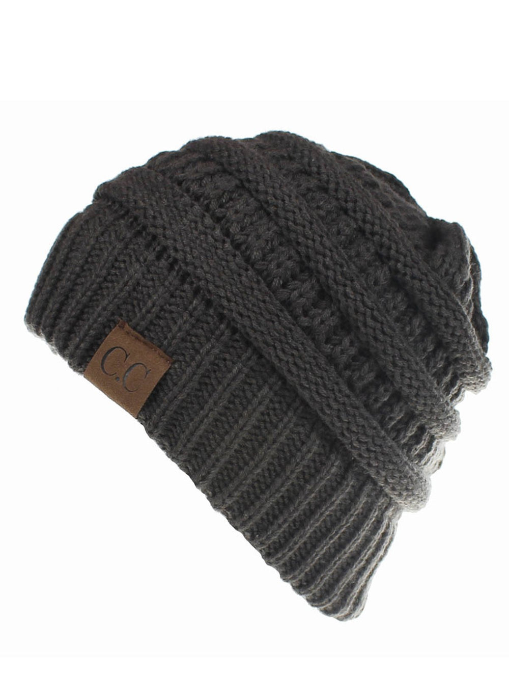 Casual Solid Knitted Hat