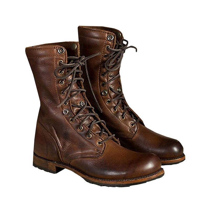 All Season Women Vintage Martin Casual Lace-up Boots