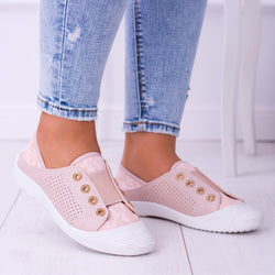Women Athletic Elastic Band Sneakers Shoes