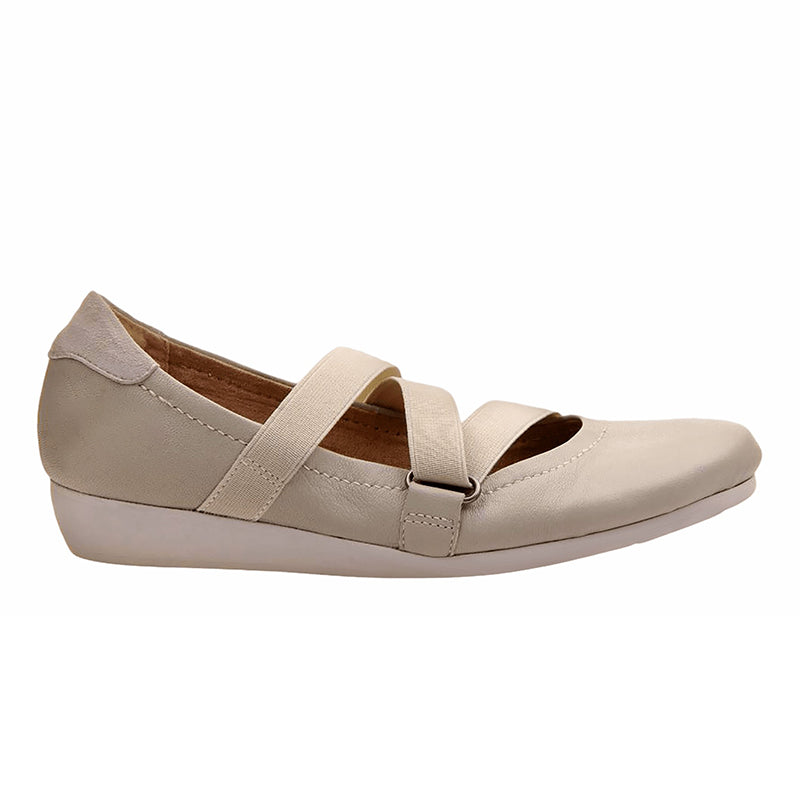Mary Jane Shoes Slip-On Low Heel Elastic Band Ballet Women's Flats