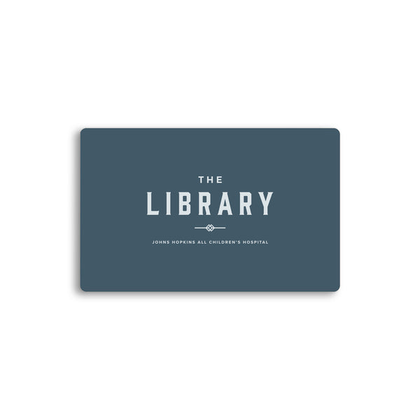 The Library Restaurant Gift Card