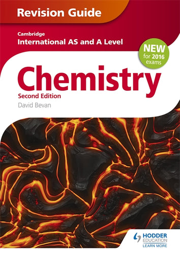 Cambridge International AS/A Level Chemistry Revision Guide 2nd edition