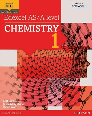 Edexcel AS/A level Chemistry Student Book 1
