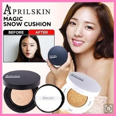April Skin Magic Snow Cushion (FREE SHIPPING + FREE SURPRISE GIFT)