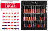 NYX SOFT MATTE LIPCREAM VAULT I (CASH ON DELIVERY + FREE SHIPPING + FREEBIES)