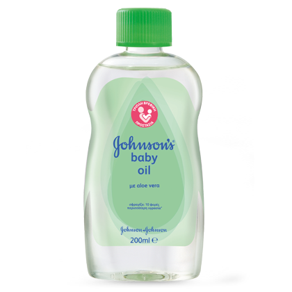 Johnson's Baby Oil Aloe Vera 200ml!