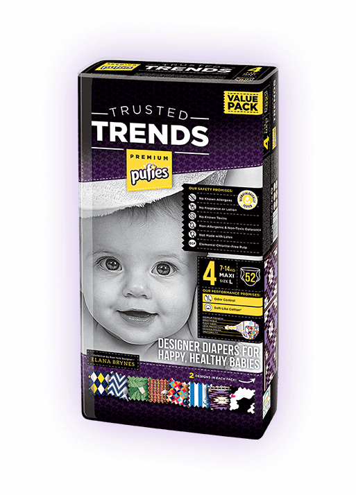 Pufies Trusted Trends Premium Βρεφικές Πάνες Value Pack!
