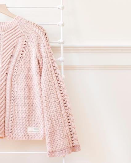Odd Molly Pink  Glory Days Knit Cardigan