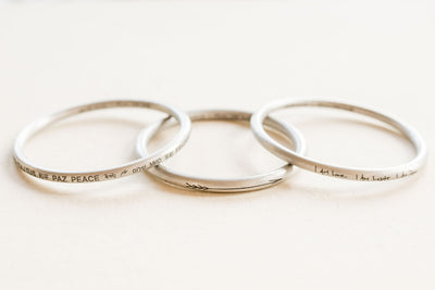 ARTICLE22  Peace All Around Bangle