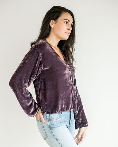 CP Shades Kelsi Velvet Top