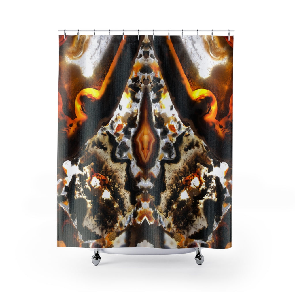 Geode Shower Curtains