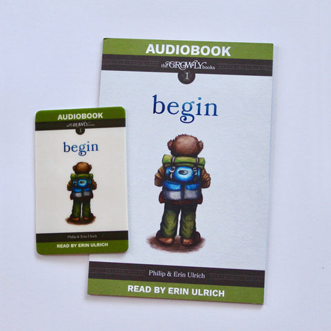 Begin Audiobook (Download Card)