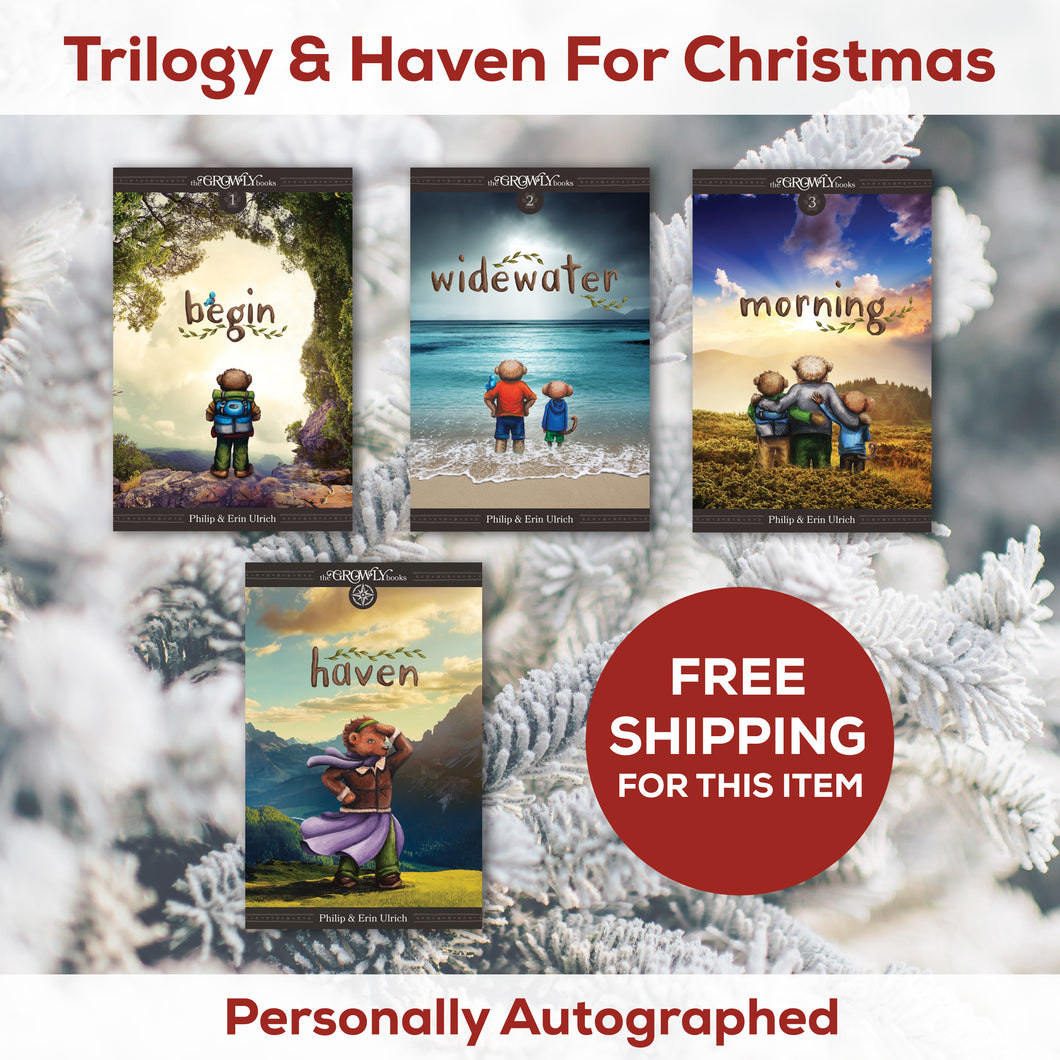 Growly Trilogy & Haven For Christmas